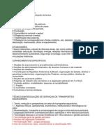 Programa de Estudos