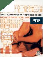 1020 Ejercicios y Actividades Readaptacion Motriz