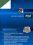 4Questionnaire Design