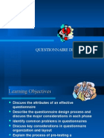 4Questionnaire Design