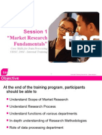 Section 1 - Market Research Fundamentals