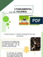 Posicion Fundamental en El Voleibol Diapositivas