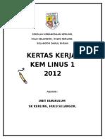 Kem Linus 2014 Paperwork