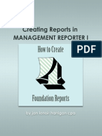 TOC and Sample Pages From Creating Reports in Management Reporter 20121
