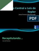 Campo Central e Leis de Kepler