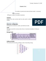 Chemistry Test 1