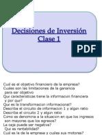 Inversión Clase 1
