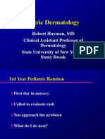 2012 CT Course Pediatric Dermatology (1)