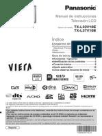 Panasonic Tv-lcd TX-l32v10 Guia Rapida