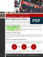 North Highline Fire District Benefit Charge