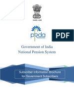 NPS for Govt- Brochure