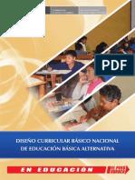 Diseño Curricular Básico Nacional de Educación Básica Alternativa Peruana