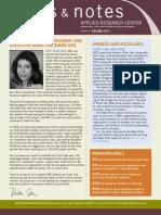 Arc Newsletter Nov 2009
