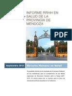 Provincia de Mendoza Informe Salud