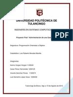 Proyecto Gasolineria