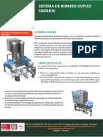 Sistema Bombeo Aceite Duplex BDILB30