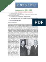 Uruguay Entre 1958-1968