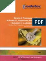 Glosario de Terminos Para El Proceso de Planeacion Financiera