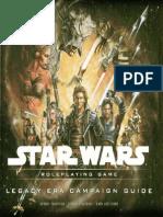 Star Wars Saga Edition - Legacy Era Campaign Guide
