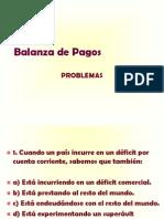 Ejercicios - Balanza de Pagos