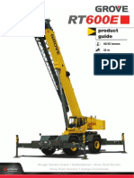 Catalogo Grua Grove Rt600e