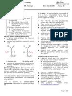 B03M02L4 Protein Chemistry 1