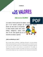 CHARLA de Los Valores[1]