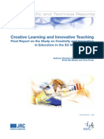 Creative Learning and Innovative Teaching