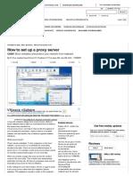 How to Set Up a Proxy Server _ News _ TechRadar