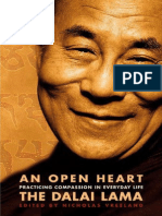 The Dalai Lama - An Open Heart Practicing Compassion In Everyday Life