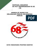 Proposal Kegiatan Hut Ri 68