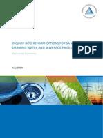 140716-WaterSeweragePricingReformInquiry-ExecutiveSummary