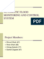 (2) Automatic Flood Monitoring and Control System