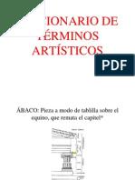 Breve Diccionario de Terminos Artisticos