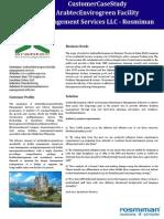 Arabtec Envirogreen Faciltiy Management Services - Case Study
