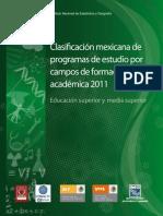 CLASIFICACIÓN ÁREAS AFINES