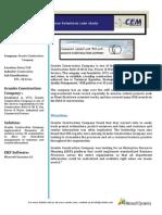 Granite Construction Company - case study