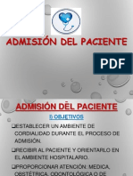 Admisiondelpaciente Clase111 131014112754 Phpapp01