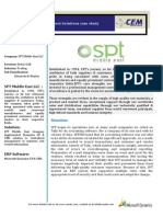 SPT Middle East LLC - Case Study