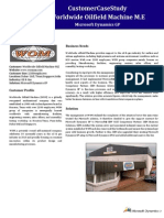 Worldwide Oilfield Machine M.E - Case Study