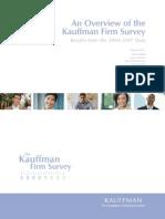 Kauffman Firm Surverys SSRN-Id1456380[1]