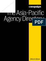 The Asia-Pacific Agency Directory 2013-2014