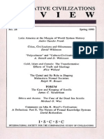 [1993] André Gunder Frank. Latin America at the Margin of World System History (In