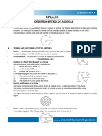 Circle, Geometrical Constructions Statistics & Probability