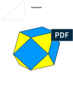 Kuboktaeder Volumen , Aufbau (AF)