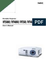 Projector Manual 3086