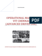Operational Manual DC Drive