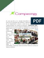 CAMPEONES 2020