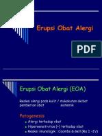 Erupsi Obat Alergi