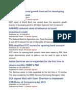 CA Economics From Jan 2013